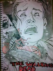 Walking Dead - First sketch in 16 Years. by nightmancometh