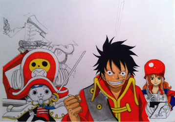 The One Piece Gang - another work in progress! by nightmancometh