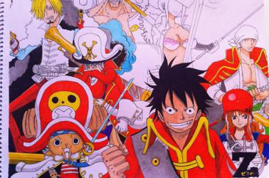 One Piece Gang - Further Progressed. by nightmancometh
