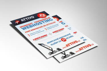 Attivo leaflet by lys036