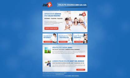 Newsletter design inet4 by lys036