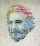 Placido Domingo Typographic Portrait by Plentyrees