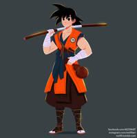 Son Goku by MZ09