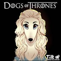 Dog of Thrones - Daeneris by MZ09