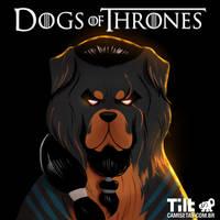 Dog of Thrones - Khal Drogo by MZ09