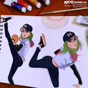 Baseball Girl by MZ09