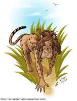Catgirl - Cheetah by strawberrygina