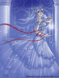 Sailormoon - Silver Crystal by strawberrygina