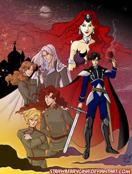 Dark Kingdom - Sailor Moon by strawberrygina