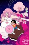 Steven Universe - Pink Diamond by strawberrygina