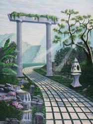 Path of Light by jkemeny