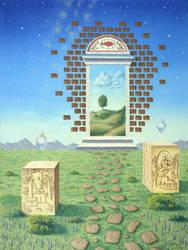 Spiritual Path by jkemeny