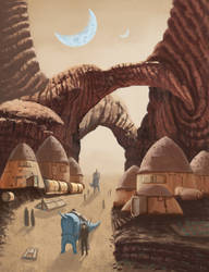 Lost Colony by jkemeny