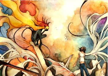 The trickster by scarlet-dragonchild