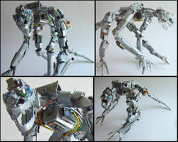 lizzard robot by Canmo