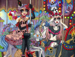 Carousel Friends by Harmony-Walls