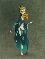 Nintendo Girlz- Midna by spicysteweddemon