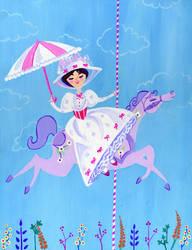 Mary Poppins by spicysteweddemon