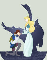 The Swan Princess by spicysteweddemon