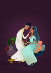 Disney Wedding: Aladdin by spicysteweddemon