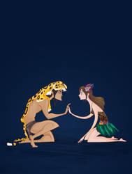 Disney Wedding: Tarzan by spicysteweddemon