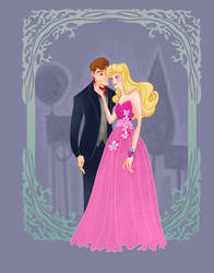 Disney Prom- Sleeping Beauty by spicysteweddemon