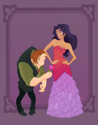 Disney Prom- Hunchback of Notre Dame by spicysteweddemon
