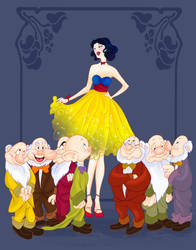 Disney Prom- Snow White by spicysteweddemon