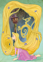 Disney Flowers- Rapunzel by spicysteweddemon
