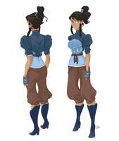 Avatar Korra is a Steam Punk by spicysteweddemon