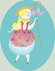 Little Bo Peep by spicysteweddemon