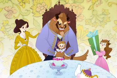A Beastly Family Birthday by spicysteweddemon