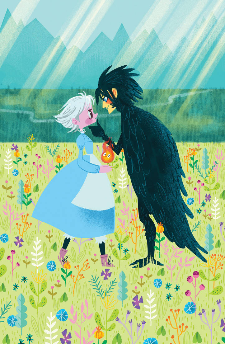 Howl and Sophie by spicysteweddemon