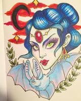Tattoo Vamp by spicysteweddemon