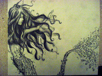 Mermaid by Ezekiel-Thrash