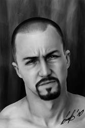 AmericanHistoryX Edward Norton by fishboo