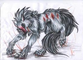 Diamond wolf by VioletMinim