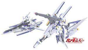 Project V 011 - Gundam Delta Kai by gloryofgundam