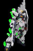 Project V 012 - RX-93 Nu Gundam by gloryofgundam
