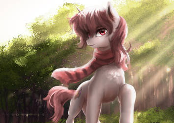 RedPalette's oc by Aidelank