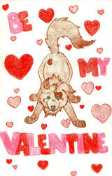 Valentine's Day Card by Irukapooka