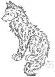 Fluffy Doggy by Irukapooka