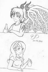 Cliden and Rachel Version 2.0 by Irukapooka