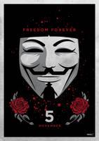 V For Vendetta by funky23