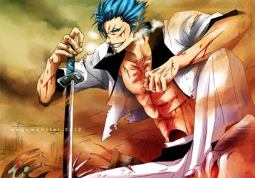Grimmjow's Tribute by megumonster