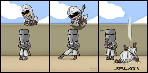 Templar Tumble by ZerachielAmora