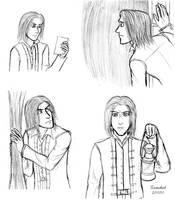 Sketches: Daniel by ZerachielAmora