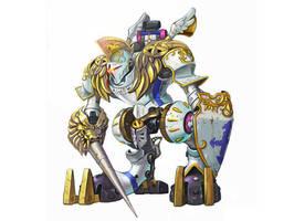 Battle Gear Concept Art by D-faulTx