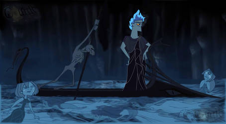 Hades version Total Drama by CourtR