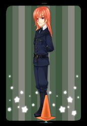 Lieutenant Glaucophane by shimoyo
